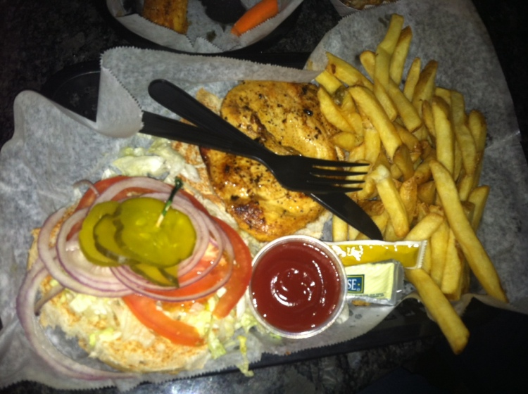 Lemon Pepper Chicken Sandwich