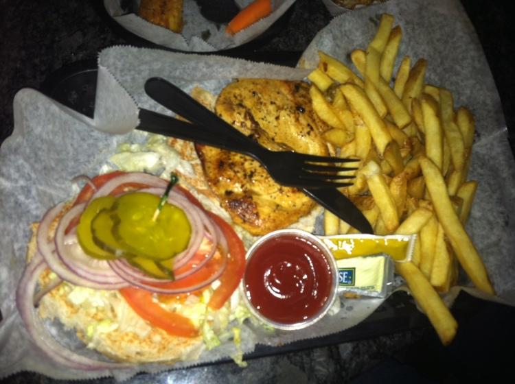 Lemon Pepper Chicken Sandwich