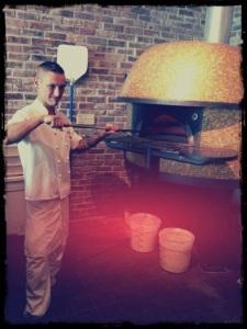 Making Fresh Pizza