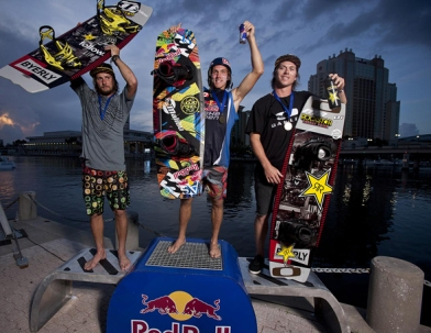 2012 Red Bull Wake Open Champions
