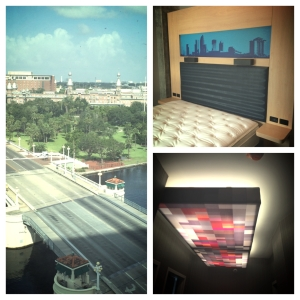 Aloft Downtown Tampa Hotel Room
