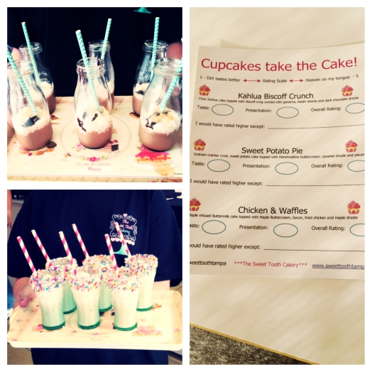 Sweet Tooth Cakery Treats and Scorecard