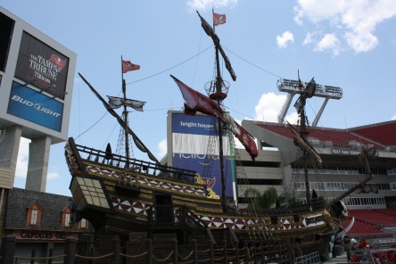 Buccaneers Pirate Ship Raymond James NFL
