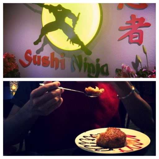 Sushi Ninja Tampa Fried Ice Cream
