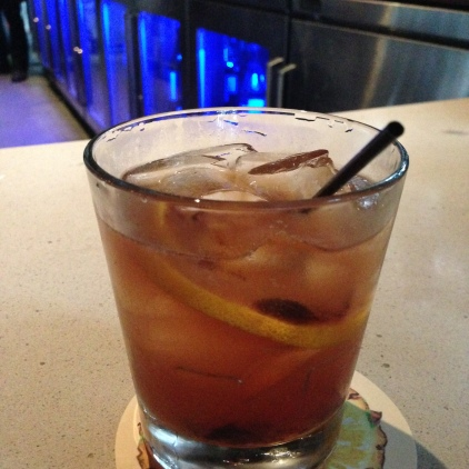 Ulele Restaurant Tampa Heights Pyrat Old-Fashioned