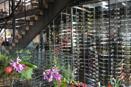 Ulele Restaurant Tampa Heights  Wine Room