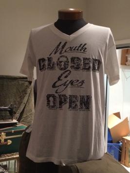 Black and Denim graphic tshirt