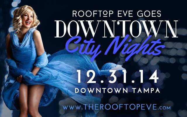 Rooftop Eve Goes Downtown Tampa