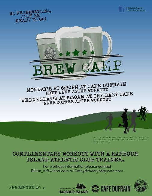 NHIE Tampa Bay Cafe Dufrain Brew Camp